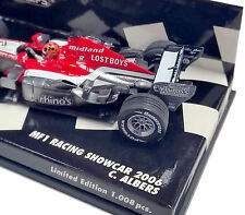 MINICHAMPS 1/43 2006 MIDLAND F1 RACING SHOWCAR CHRISTIJAN ALBERS 400060089