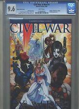 Civil War: X-Men #1 Cgc 9.6 (2006) Aspen Turner Variant