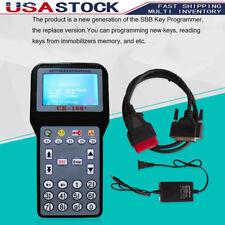 CK100 Plus V99.99 Universal OBD2 Car key Programmer No Tokens Limited SBB O8M3