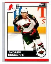 (HCW) 2010-11 Score Glossy #249 Andrew Brunette Wild Mint