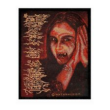 Cradle of Filth Patch Lead Singer Lord Dani the Vampire Metal Sew On Applique