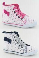 Chaussures roses à lacets en toile pour fille de 2 à 16 ans