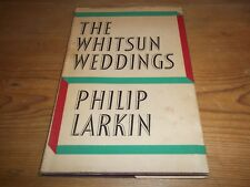 Book. The Whitsun Weddings. Philip Larkin. 32 Poems. 1st 1964 HB. Faber & Faber