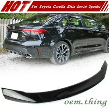 Painted #209 For TOYOTA Corolla Levin Altis 4D Sedan Trunk Spoiler Wing 2019up