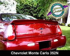 UNPAINTED CHEVROLET MONTE CARLO PACECAR FACTORY STYLE SPOILER 2000-2005