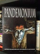 Clive Barker Pandemonium 1st Trade HC Ed. Signed by Clive and Doug Bradley