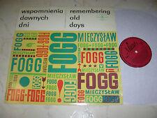 MIECZYSLAW FOGG Wspomnienia Dawnych Dni *POLSKIE NAGRANIA 60s LP*