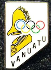 LONDON 2012 Olympic VANUATU NOC Internal team - delegation large logo pin