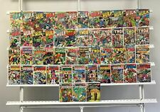Vintage Marvel  The Incredible Hulk Thor The Defenders Captain America Marvel 25
