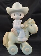 """1998 Precious Moments """"Happy Trails"""" Member's Only Pm981 Mib"""