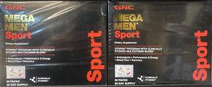 2X GNC Mega Men Sport Vitapak Program, 30 Packs