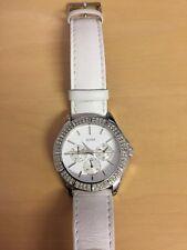 Guess women white watch