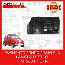 FIAT 126 FLOOR PAN SEAT RAIL supporto in metallo