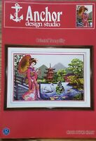 ORIENTAL TRANQUILITY  Cross Stitch Pattern from Anchor Designs OOP BEAUTY!