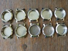 Watchmakers Vintage New Old Stock Wristwatch Cases Group Gruen