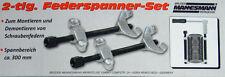 PKW Federspanner-Set 2-tlg. Brüder Mannesmann Werkzeuge Art. 258-1