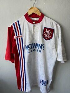 Glasgow Rangers Away Football Shirt 1996/1997 Original Adults M Adidas Jersey