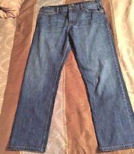 LRL Lauren Jeans Co. Women's Heritage Navy Denim Straight Leg Jeans SZ 12
