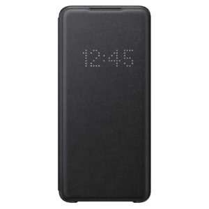 SAMSUNG LED VIEW CASE COVER FOR GALAXY S20 ULTRA – BLACK – EF-NG988PBEGEU