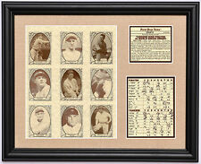 1927 New York Yankees Murderer's Row World Series Champions framed photo tribute