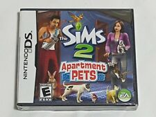 NEW (Read) The Sims 2 Apartment Pets Nintendo DS Game SEALED apt pet US NTSC