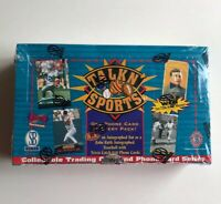 1997 Score Board Talkn' Sports Phonecard FACTORY SEALED Box RARE