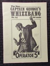 1972 Captain Georges Whizzbang Fanzine #14 Fn- 5.5 Will Rogers Secret Service #5