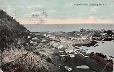 Laupahoehoe Landing Hawaii Postcard 1912