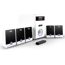 POWERFUL 5.1 SURROUND SOUND HIFI PC ACTIVE SPEAKER SYSTEM *FREE P&P UK OFFER