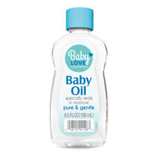 Personal Care Baby Love Mineral Baby Oil. Prevents Baby's Skin Dryness. 6.5 Oz