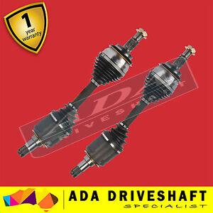 2 NEW CV JOINT DRIVE SHAFT For TOYOTA LANDCRUISER PRADO 120 150 SERIES 2003- on