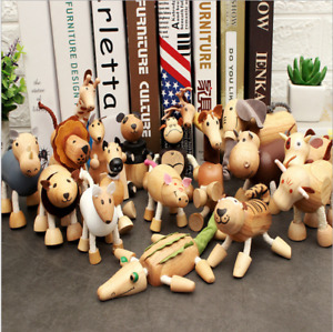 New Unique Wooden Animals 3D Imitate Toys Gifts Kids AU Stock Christmas Gifts