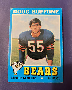 1971 TOPPS FOOTBALL #126 DOUG BUFFONE CHICAGO BEARS LINEBACKER  *FREE SHIPPING*