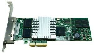 IBM Intel Pro/1000 PT Quad Port GbE PCIe Server Adapter - 46Y3512 - EXPI9404PTL