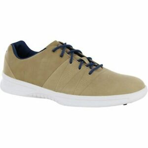 FootJoy Contour Casual 54056 Taupe/Navy Men Spikeless Golf Shoes