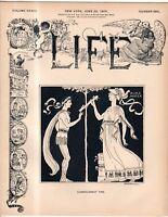 1899 Life June 22 Dreyfus affair soils France; Gould marries a Count; Samoa