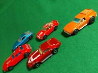 "5x Matchbox 1970s superfast   3"" Diecast lesney cars vintage toy"