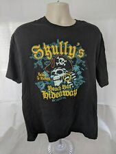 Skully's Beach Bar Hideaway Carnival Cruise t-shirt mens XL