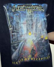 Heathen T-SHIRT XL Victims of Deception 1991 Bay Area thrash metal VINTAGE