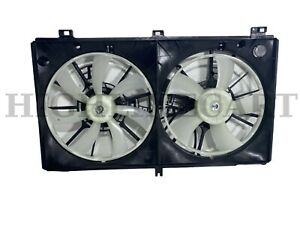 For 2014-2015 Lexus IS250 2.5L Radiator Condenser Cooling Fan Assembly