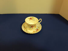 """Royal Albert """" Jubilee Rose"""" Bone China Tea Cups and Saucers"""