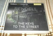 The Keys to the Street - Ruth Rendell (Unabridged Audiobook CD, 2010) Audio Book