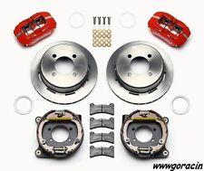 "Ford Falcon,Mustang,Ranchero Wilwood Dynapro Rear Parking Brake Kit, 11"" Rotors-"