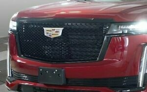 GM OEM Cadillac Escalade 2021+ Black Front Grille Generation 5 Brand New