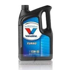 Valvoline Turbo 15W50 5L Motoröl Öl Motorenöl Mercedes Porsche Schmierstoff