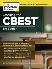 California CBEST 3rd Edition Practice Test Preparation Study Book Exam Guide New