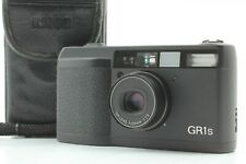 [N Mint in Case LCD Works] Ricoh GR1s Black 35mm Point & Shoot Camera from JAPAN