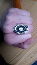 W/ Emerald Gems 41 Paparazzi Ring (new) Silver