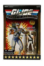 GI JOE Hall of Heroes: 2008: Cobra Ninja Storm Shadow: Sealed Unopened Mint