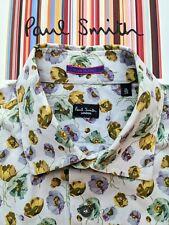 PAUL SMITH MEN'S FLORAL MEN'S SHIRT Size S - 15 / 38 - Fabulous Shirt !!!